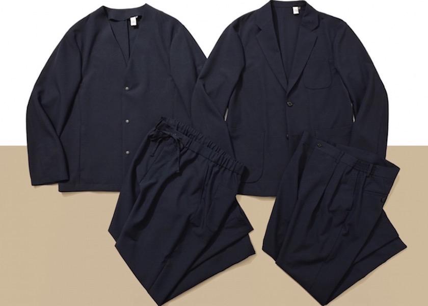 """【スーツ】ビジネスにも休日にも!洋服の青山の""""カセット服""""が楽すぎる!"""